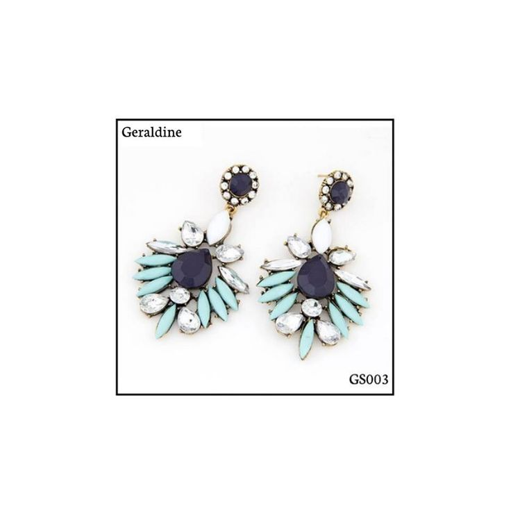 Ref: GS003 Geraldine Medidas: 8 cm x 4 cm  So Oh: 6.99  #sooh_store #onlinestore #boho #style #brincos #earrings #fashion #shoponline