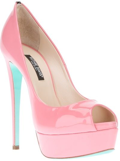 RUTHIE DAVIS 'Marine' Pump do you think your Ruthie would be happy with these?