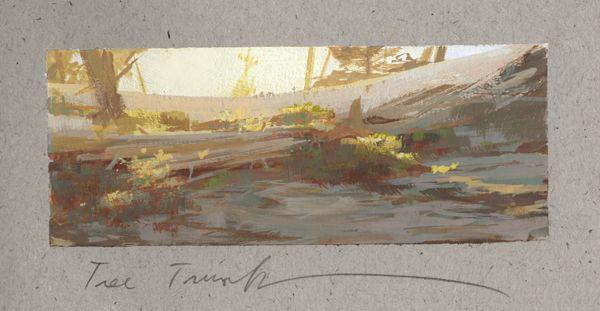 Land Sketch 2016 In 2020 Landscape Sketch Landscape Paintings