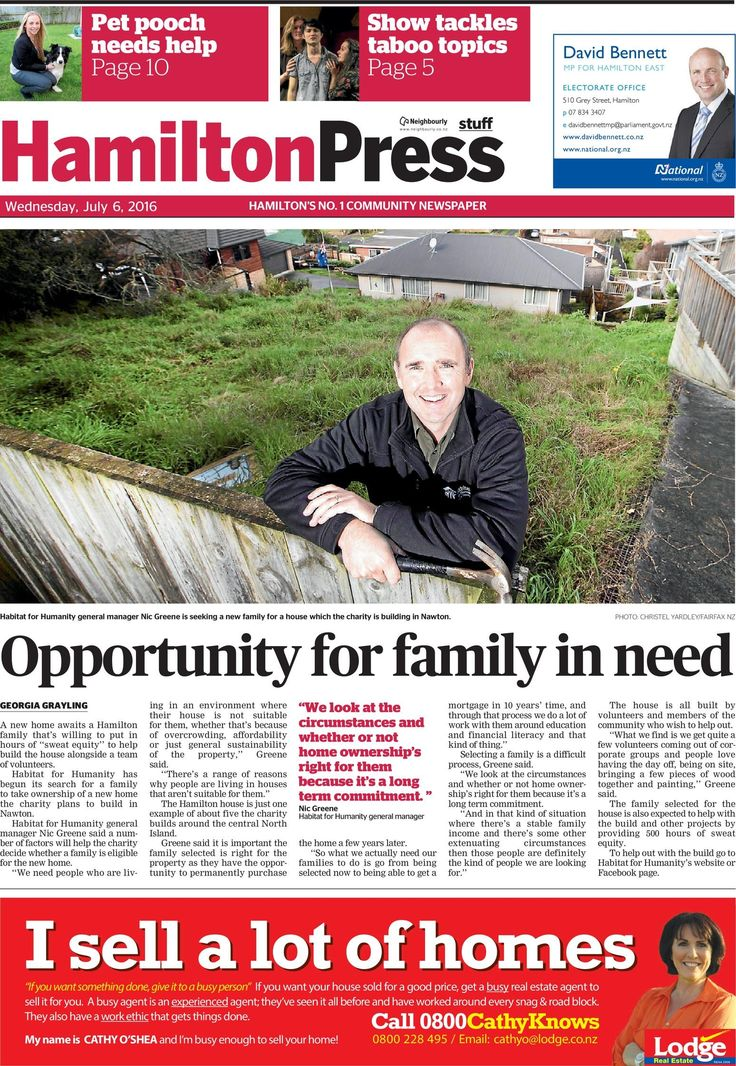 Read the latest online edition of The Hamilton Press. It's simple to use, quick and free!