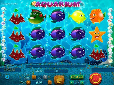 Игровые автоматы на реальные деньги с выводом Aquarium.  Игровой автомат Aquarium имеет прибыльные символы и раунд на умножение, за счёт которых является выгодным для игры на реальные деньги. Простые правила и высокие выплаты делают этот слот интересным как для новичков, так и для опытных игроков казино.