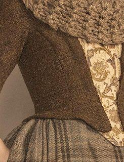 Outlander TV Series (2014) wardrobe details. Series Costume Design by Terry Dresbach (7 episodes, 2014) Glenne Campbell (4 episodes, 2014)