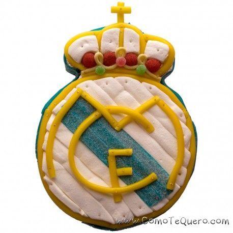 Tarta de chuches escudo Real Madrid