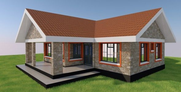 3 Bedroom Good House Plan Muthurwa Com Best House Plans Bedroom House Plans House Plans