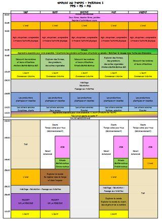 Nouveaux programmes 2015 en maternelle (La classe de Jenny)