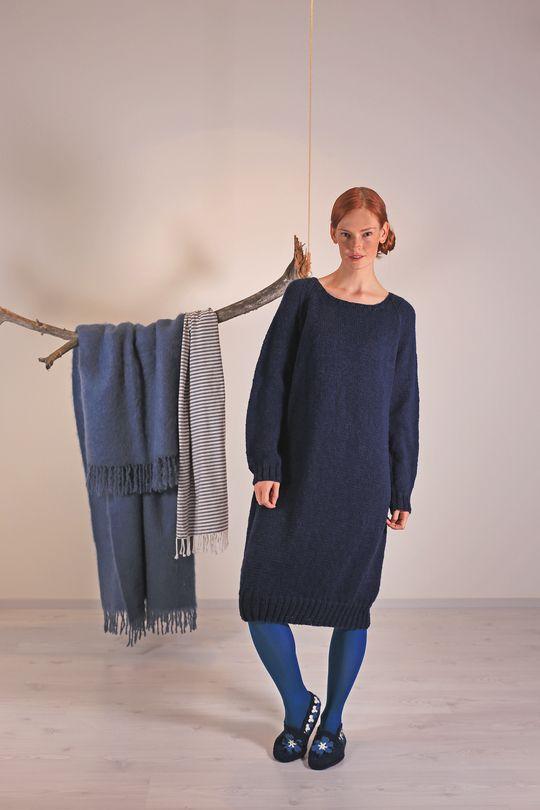 Naisen neulemekko Novita Nordic Wool | Novita knits