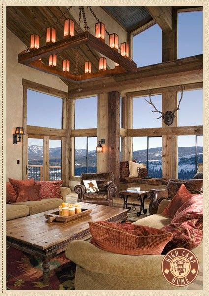 mountain living room