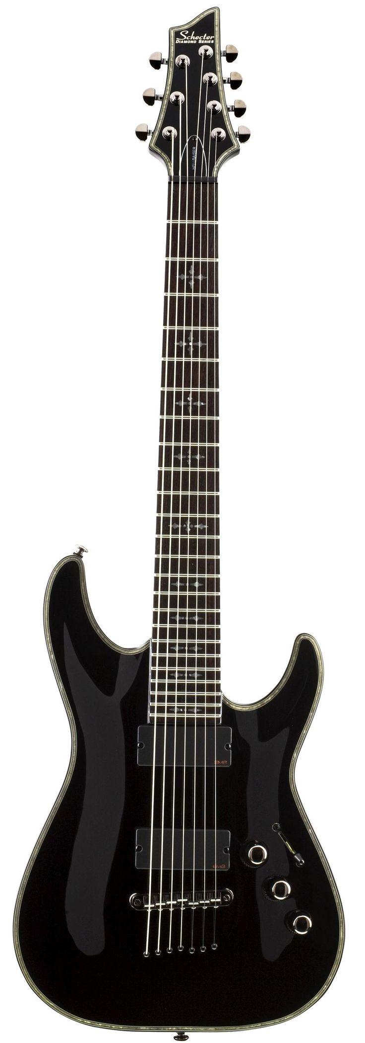 Simo's guitar: Schecter Hellraiser C-7  #distressofruin #Schecter #hellraiser #C7 #7string #guitar #electric #music