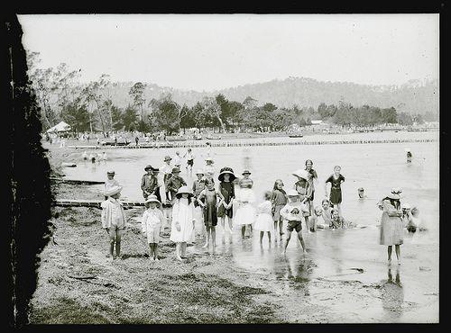 Lake Macquarie at Speers Point, Australia 1910