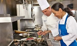 Groupon - Any Culinary Workshop for One, Two, or Four at Le Cordon Bleu - Bleu Ribbon Kitchen (Up to 58% Off) in South Scottsdale. Groupon deal price: $79