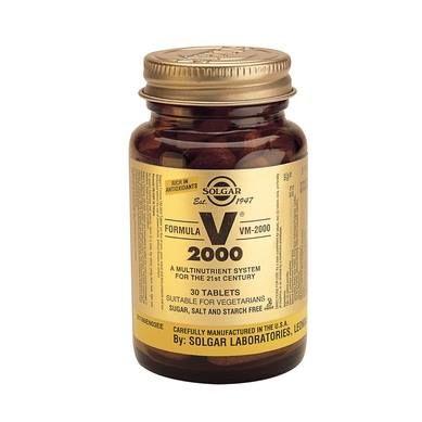 SOLGAR VM 2000 - Η απόλυτη πολυβιταμίνη! Η σειρά VM-2000™ της Solgar είναι ιδανική για την επίτευξη καλυτέρων επιπέδων ευεξίας και ζωτικότητας και σας προσφέρει την απαραίτητη ενέργεια για να αντεπεξέλθετε σε όλες τις καθημερινές σας δραστηριότητες, παρέχοντας στον οργανισμό τα απαραίτητα συστατικά, στις σωστές αναλογίες και στην πλέον αφομοιώσιμη μορφή. Τώρα, με έκπτωση -42% --> http://www.i-cure.gr/search?search=vm&bfilter=m0:59;