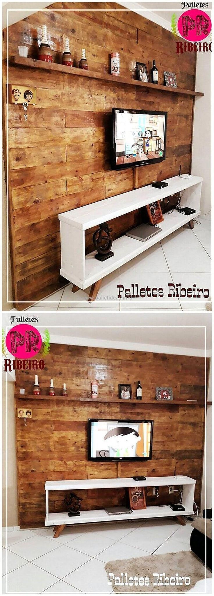Give a look at this pallets wooden