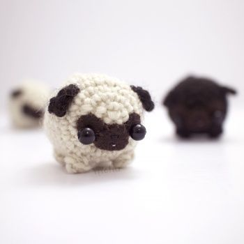 Don't be intimidated by this wild bunch. They are quite scary, no? Scary cute! Have fun making these lovely little amigurumi creatures and spread the love around you.Want to learn how to do amigurumi? Check our Amigurumi skillset and learn watching easy tutorial videos.