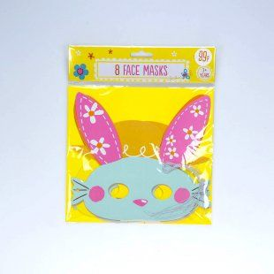 46 best all things easter images on pinterest easter easter ideas pack of 8 cute easter masks from card factory negle Images