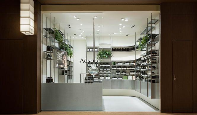 ブランドの科学的探究を具現化した「イソップ 東京ミッドタウン店」オープン Aēsop