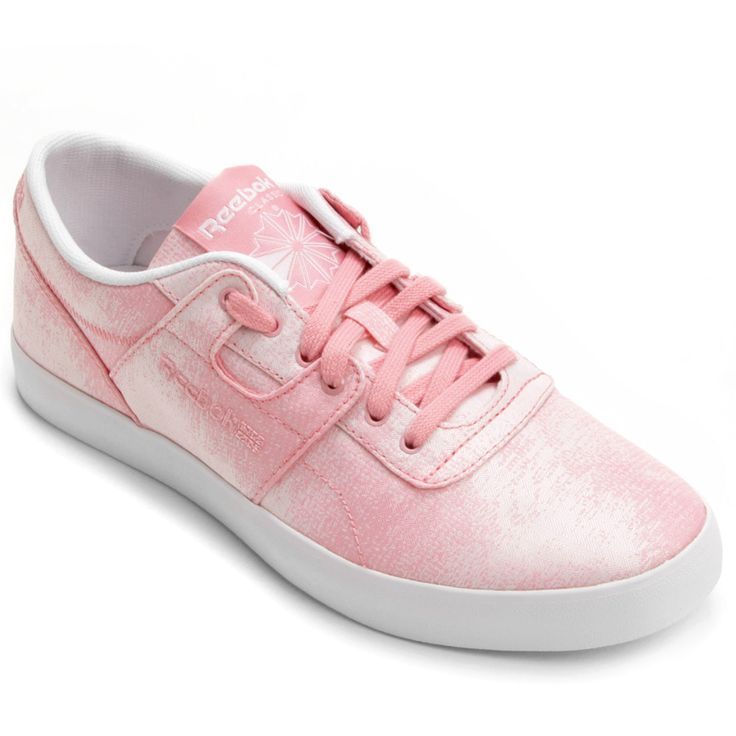 Tênis Reebok Workout Low Fvs - jacquard rosa/branco