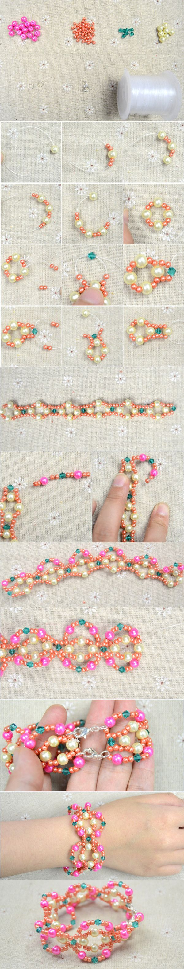1402 best *Bracelet making images on Pinterest | Memory wire ...