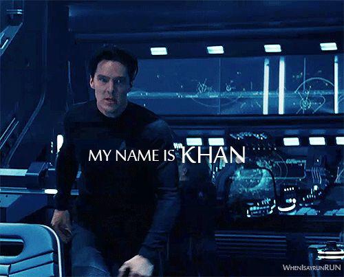 Khan in Star Trek Into Darkness. LIKE A BOSS! jf
