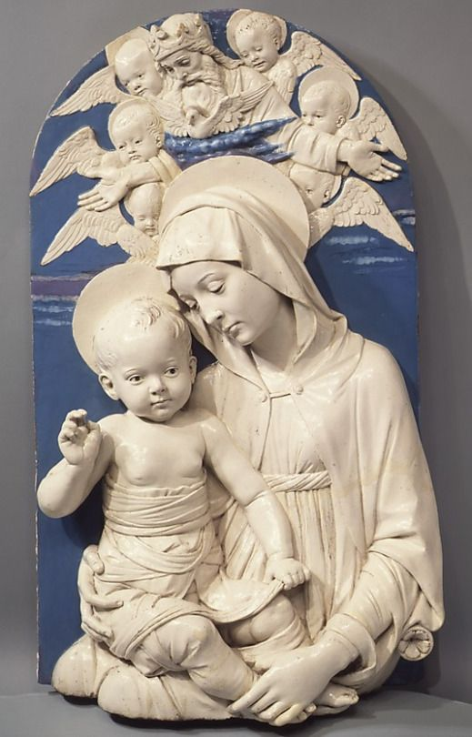 1470 Andrea della Robbia - Virgin and Child