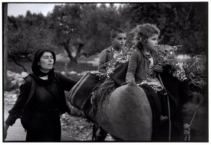 "Constantine ""Costa"" Manos (born 1934 in South Carolina): Crete. Kritsa. 1964. Going home from the fields. ""A Greek Portfolio"".  © Costa Manos/Magnum Photos"