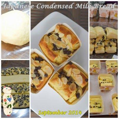 Japanese Condense Milk Bread