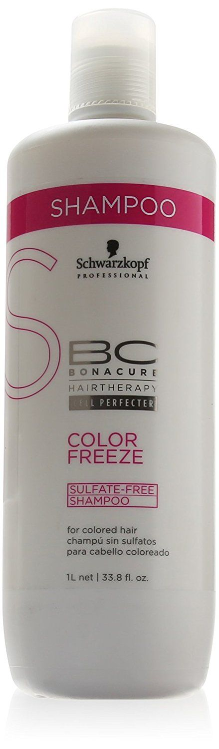 Schwarzkopf BC Bonacure Color Save SULFATE-FREE Shampoo - 33.8 oz / liter by Schwarzkopf Professional >>> You can find more details by visiting the image link.