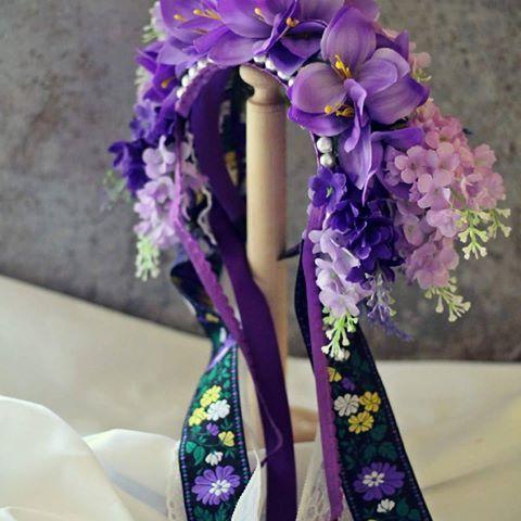 very soon on my website #wedding #weddingwreath #fashion #style #stylish #fashionstyle #flowers #purple #black #homemade #thephotooftheday #beauty #slovakia #slovakproduct #slovakfolklore #folklore #svadba #kvety #fialova #cierna #kvetinovacelenka #svadobna  #svadobnaparty #folklor #ludovy #slovenskyfolklor #umenie #art  #artherapy #ornament
