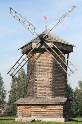 Moulin à vent en Russie Souzdal