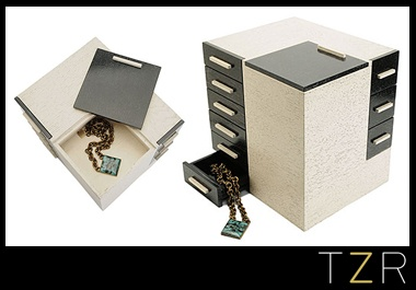 Treasure Chest  Kelly Wearstler Jewelry Box- totally impractical but really cool