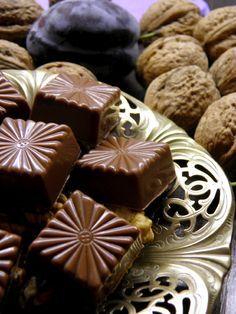 Blog, amely házi készítésű bonbon és csokoládé recepteket tartalmaz.