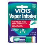 Vicks Vapor Inhaler Soothing Vicks Vapors Nasal Decongestant .007 oz. by Vicks, http://www.amazon.com/dp/B000052X7B/ref=cm_sw_r_pi_dp_Bq6fqb17W7450