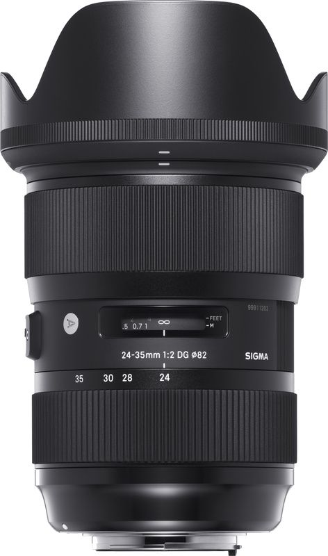 Sigma Announces World's Fastest Zoom Lens for Full Frames with the 24-35mm f/2.0 Art Series (2/2) [Fstoppers]