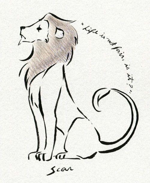 lion on imgfave  löwen könig tattoo disney tattoos der