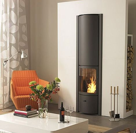 Nice Modern Black Exclusive Wood Burning Stove Designs From Stuv : Unique  Burning Stove Design Ideas. Amazing Pictures