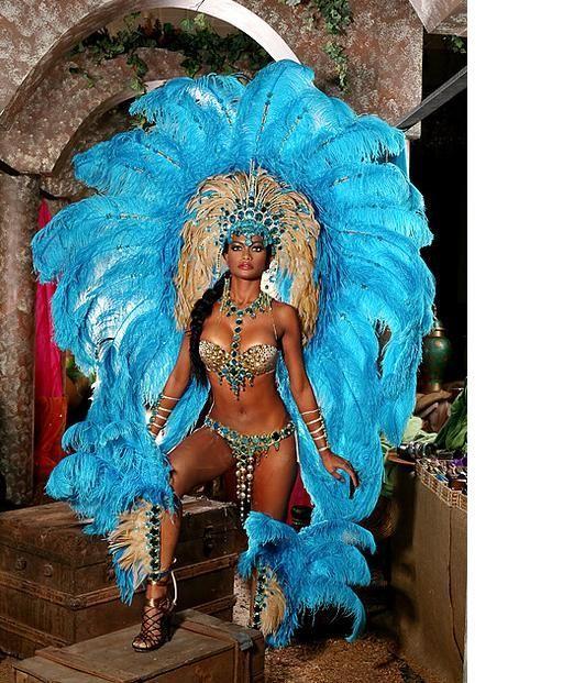 Trinidad Carnival Costumes.