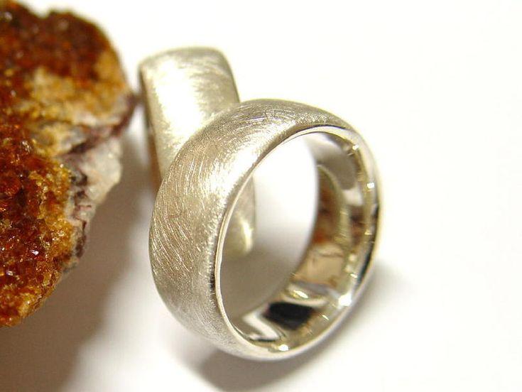 Eheringe in Silber  von Goldschmiede-Dunder auf DaWanda.com