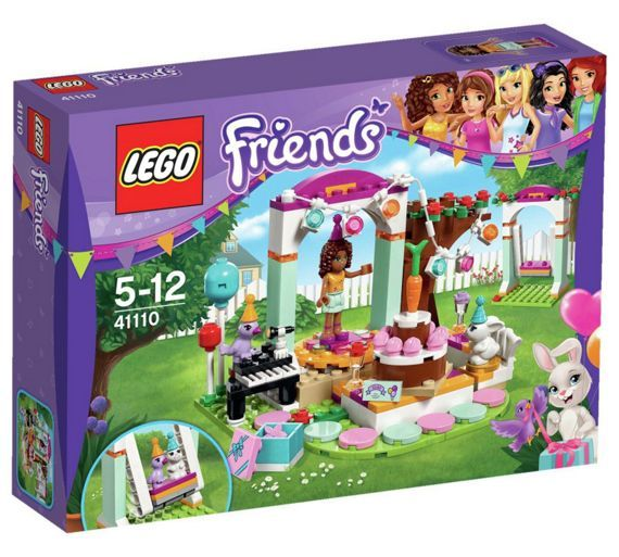 Buy LEGO Friends Birthday Party Playset at Argos.co.uk - Your Online Shop for LEGO, LEGO and construction toys, Toys.