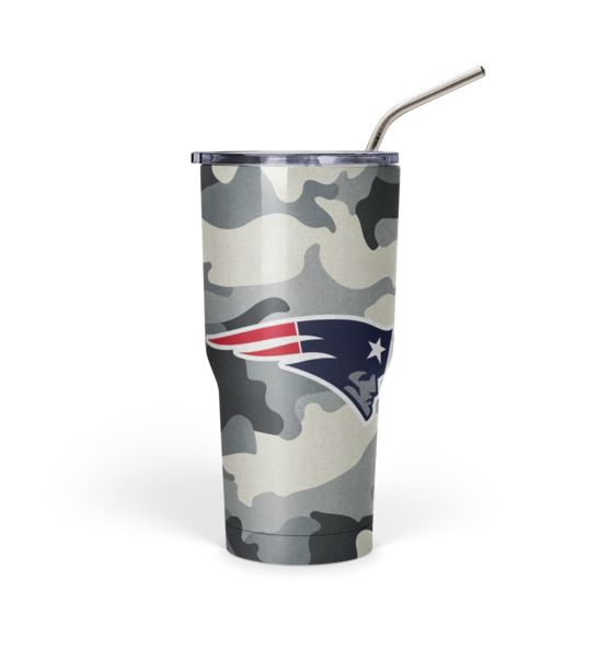 New England Patriots Camo 30oz. Tumbler New england