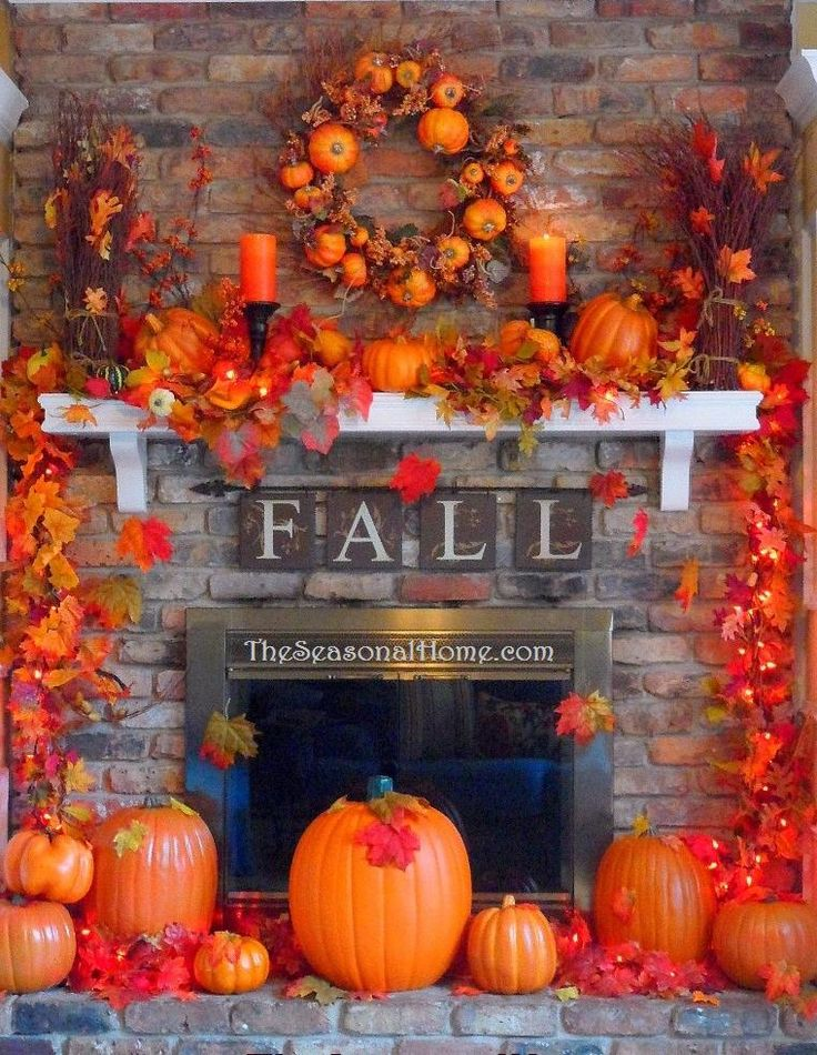 17 best images about autumn on pinterest fall home decor for Thanksgiving home decorations pinterest