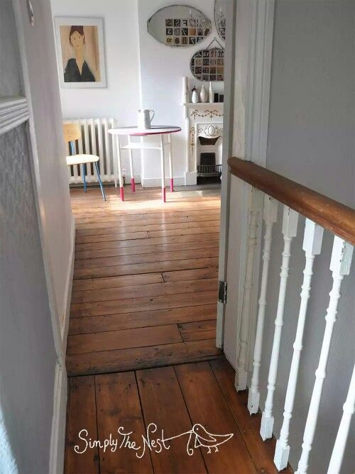 How to restore, sand and oil Victorian floorboards. Floor boards plank wood wooden refinish repair.