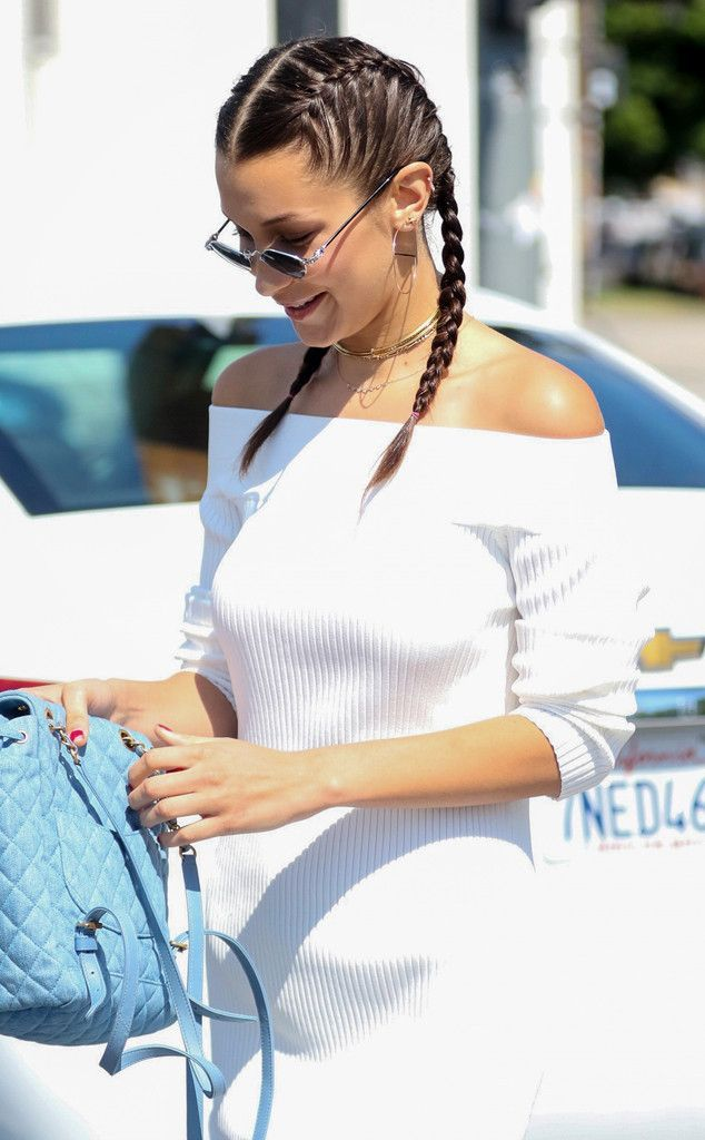Bella Hadid from Celeb Braids You'll Want to Copy …