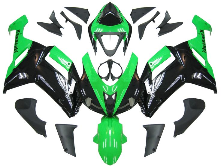 Mad Hornets - Fairings Kawasaki ZX6R ZX636 Green Black Ninja ZX6R  Racing  (2007-2008), $539.99 (http://www.madhornets.com/fairing-bodywork-for-kawasaki-zx-6r-zx636-green-black-ninja-zx6r-racing-2007-2008/)