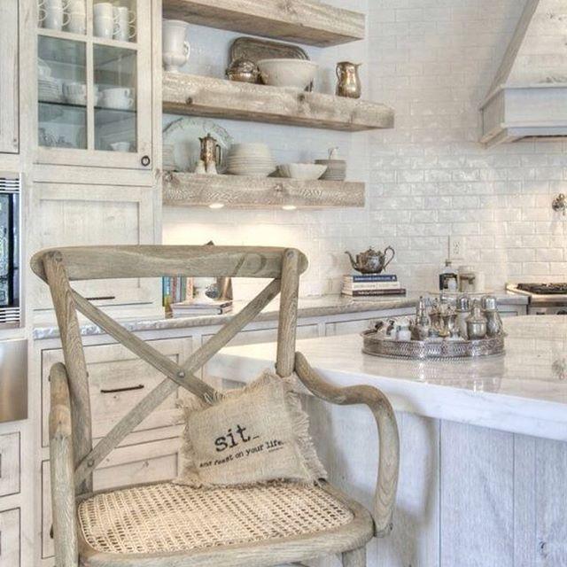 : ? @pinterest #kitchendesign #whiteliving