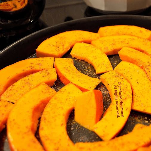 Pumpkin Slices © Stefanie Neumann | Google+  -  Ready for the oven...  #KBFPhotography #Autumn #HealthyAndYummy