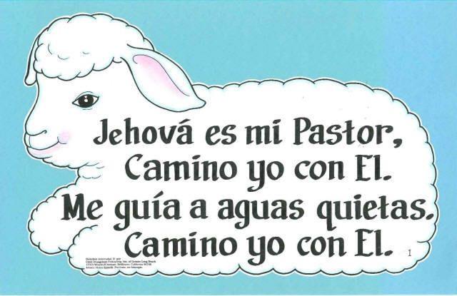 Child Evangelism Fellowship Store - Jehová Es Mi Pastor (Lord is my shepherd), $5.50 (http://www.ceflongbeach.com/jehova-es-mi-pastor-lord-is-my-shepherd/)