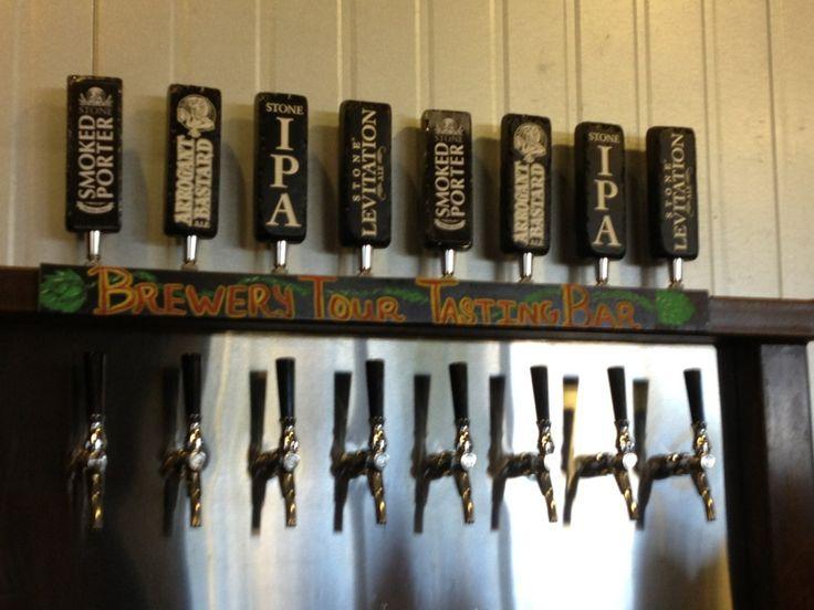 Stone Brewery Tour in Escondido, CA