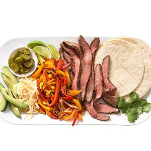 Steak-and-Pepper Tacos
