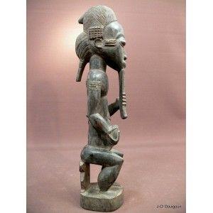 Statuette asie usu Baoulé