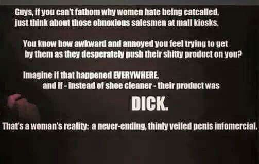 Penis Infomercial: A Perfect analogy.