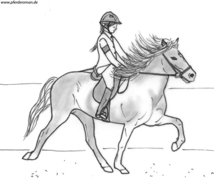 54 besten ausmalbilder pferde bilder auf pinterest